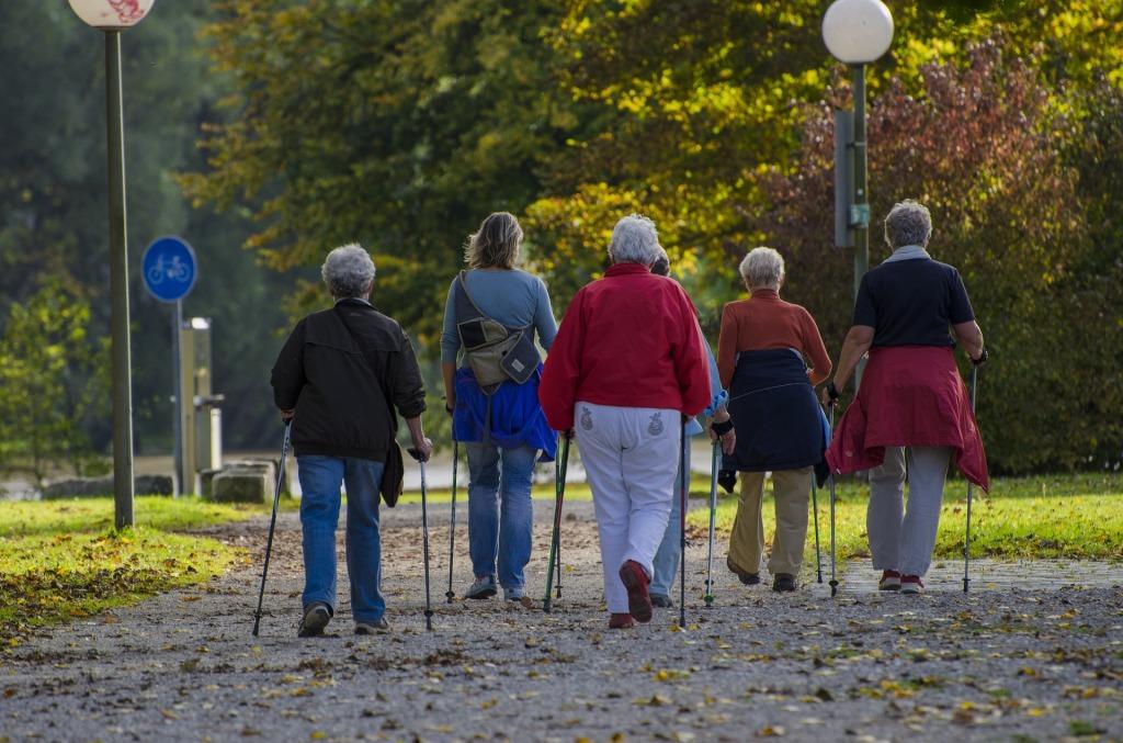 北歐式健走可能有助於減少疲倦感